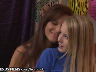 GirlfriendsFilms Syren De Mer Seduces Shy Teenager