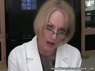 Old Female Doctor Handjob And Great Cumshot