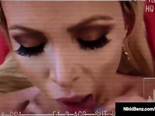 PentHouse Pet Nikki Benz Sucks Fucks & Gets Cum On Her Ass!