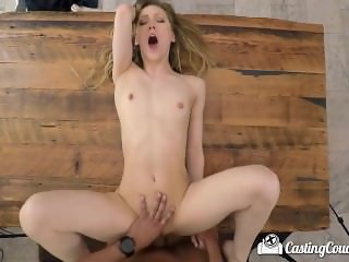 CastingCouch X Amateur Ivy Wolfe first fuck on film with agent