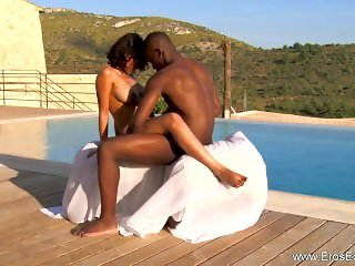 Ebony Lovers Learn Exotic Sex