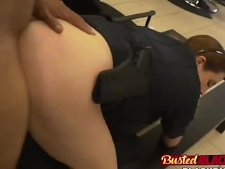 Black dick for two nasty female cops