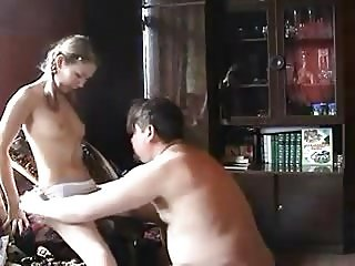 STP5 Sexy daughter Gives Him The Fuck Of His Life !
