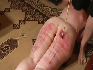 Caning the wife