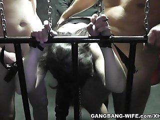 Sex slave slutwife used by plenty of men
