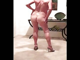 Short haired mature nude dancing