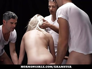 Mormongirlz - Husband shares his blonde wife