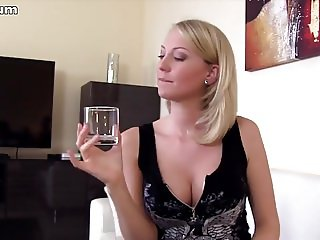 POV blonde german wife in amateur porno