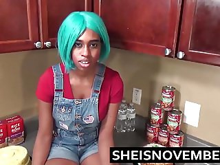 Ebony Step Sister Msnovember Fucked In Kitchen Hardcore Sex