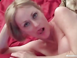 Granny Loves 3some Challenge With Two Young Cocks