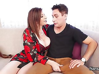 Busty Principal Sara Jay Disciplines Teacher With a Fucking!