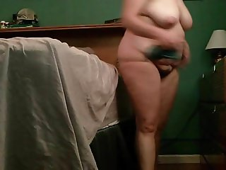 Fat ass and saggy tits BBC wife in slo-mo