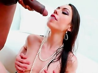 A brunette in a pissing anal orgy.avi