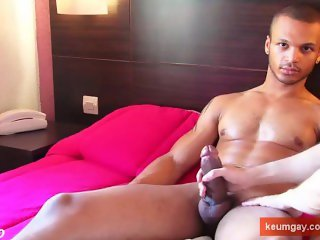 Big cock gets filmed by me in spite of this guy ! Bachir