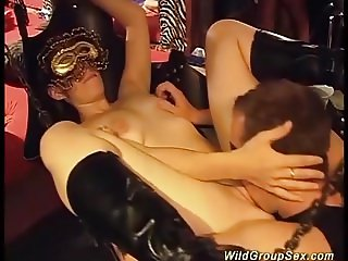 one night in a german swinger club