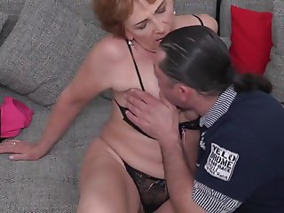 Mom and granny suck big cocks like lollipops