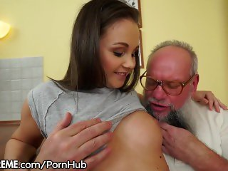 21Sextreme Teen Brings Grandpa Used Panties