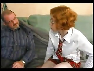 STP7 Nervous Daughter Finally Agrees To Fuck !