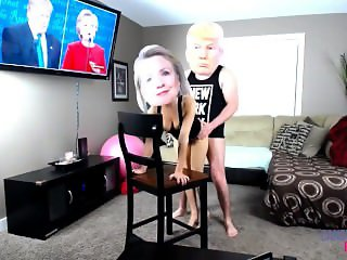 Donald Trump and Hillary Clinton Sex Tape XXX