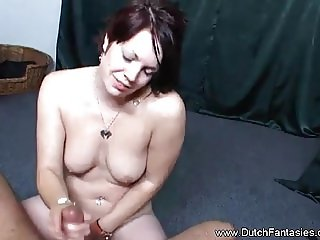 Extreme Dutch MILF Fantasy From Holland