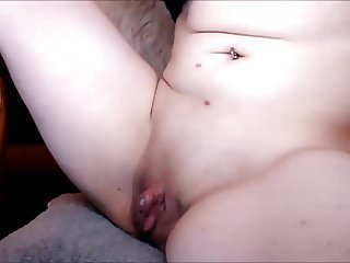 Playing With huge Clit 7