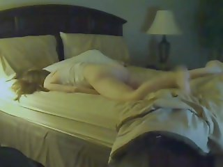 Wife Caught Humping on Hidden Cam to Moaning Orgasm