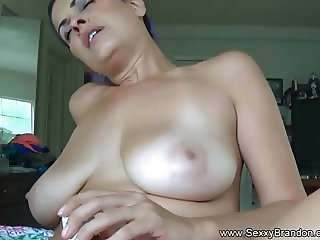 Blue Haired Amateur Latina Creampie Is Nasty
