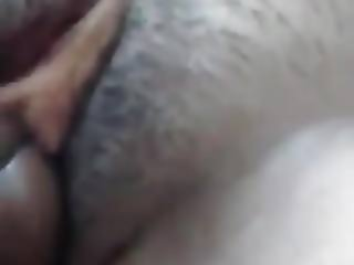 Close up penetration of Indian gf