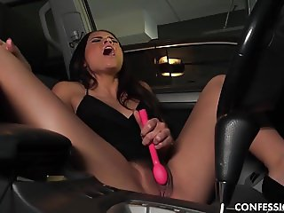 Avi Love Cannot Stop Touching Herself Like The Whore She Is