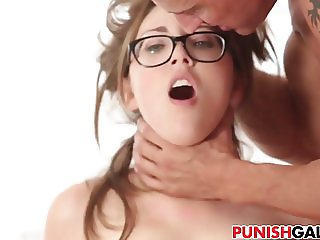 Sexy cheating slut gets double penetrated