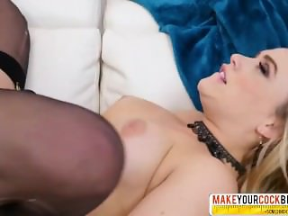 Kindhearted Step-Mom Mia Malkova In Stockings Gets Hard Sex