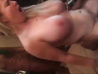 Two BBC's for big titted wife