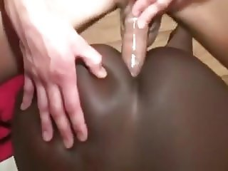 Asian Boy Sodomized Ebony Horny Girl