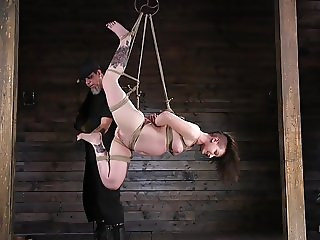 Pain Whore Paige Pierce Surrenders to Rope