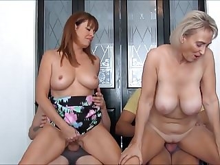 Mature 4Some With Big Titties