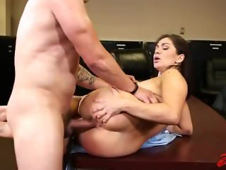 Lea Lexus Fucked In The Office