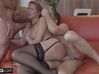 Glamkore - Euro Beauty Nikky Dream  DP Threesome Surprise