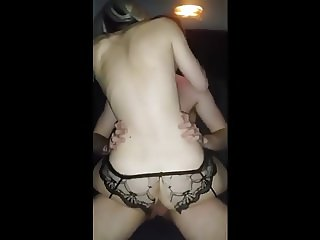 Wife rides cuckold good!