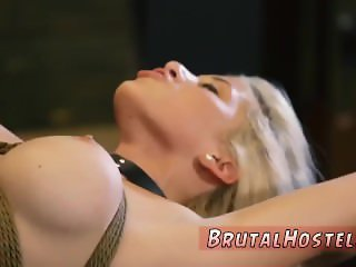 Extreme anal strap on hot step mom punishes