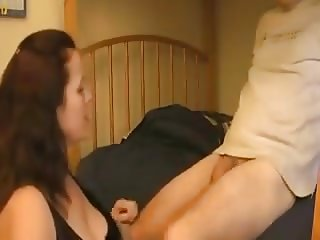 Boy Cums In Older Woman