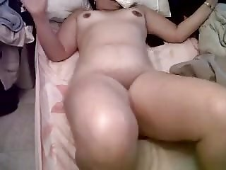 NAKED IN BED AUNTY AFTER FUCK