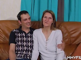 Real Amateur German Couple Homemade Sex Video
