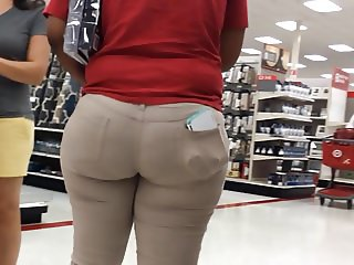 Big Butt Geeky Ebony 18yo Teen employee