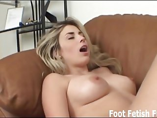 Let me jerk you off with my feet