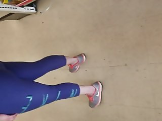 Blue spandex family dollar quick vid.