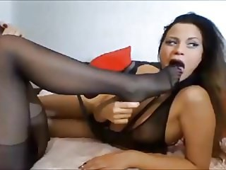 lesbian doing sex in nylon