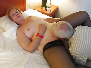 Aunt Licked by older gent