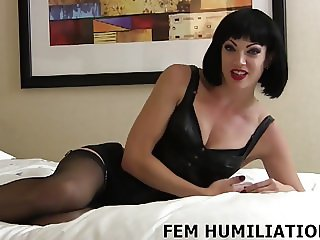 You are going to be my personal sissy slave boy