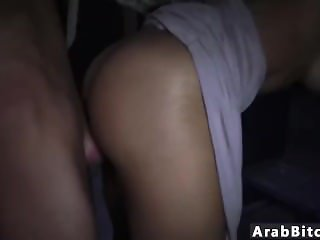 Teen public bathroom blowjob threesome