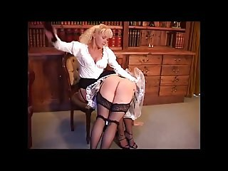 British Maid and Mistress Spanking